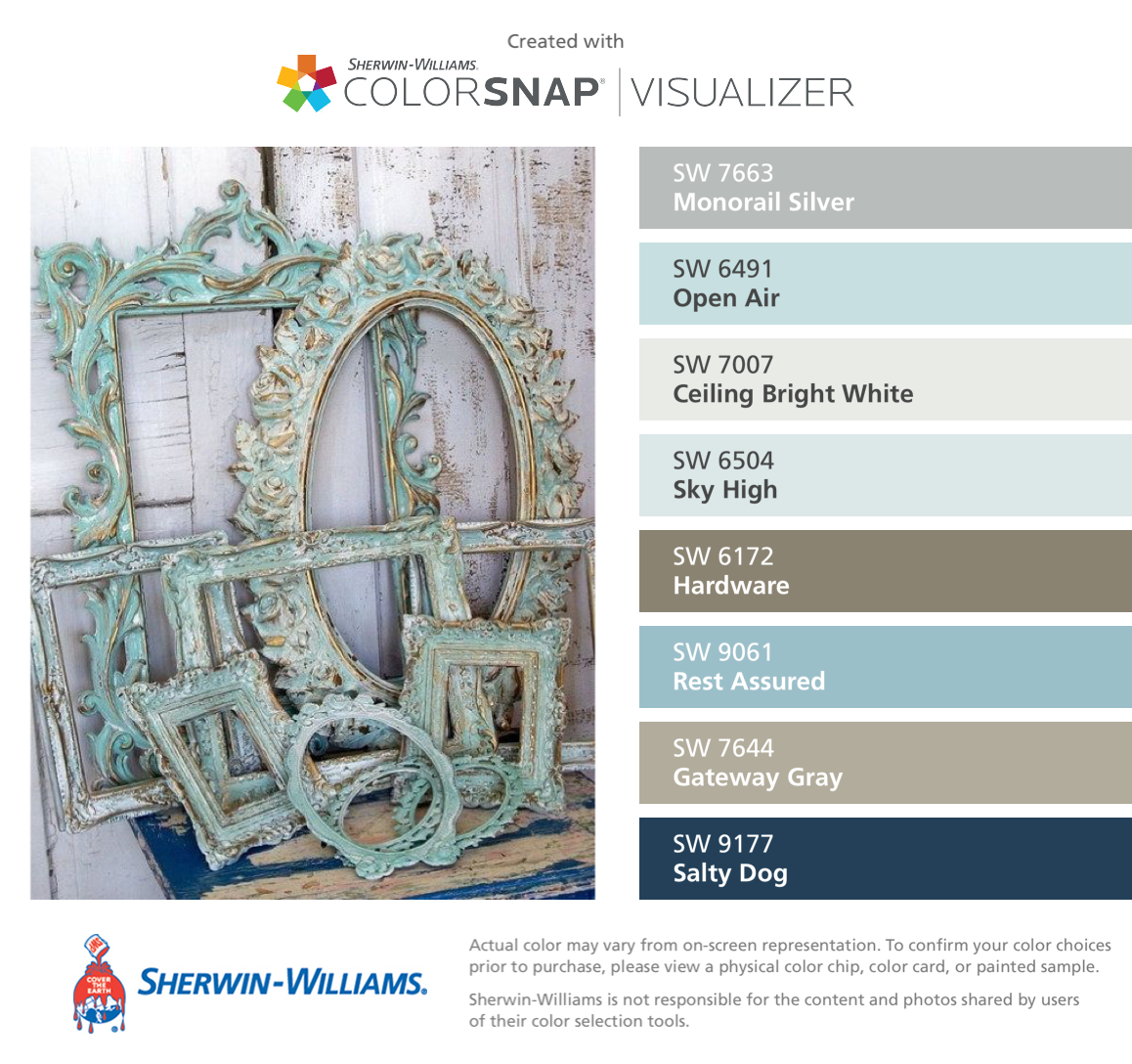 I Found These Colors With Colorsnap Visualizer For Iphone By Sherwin Williams Monorail Silver