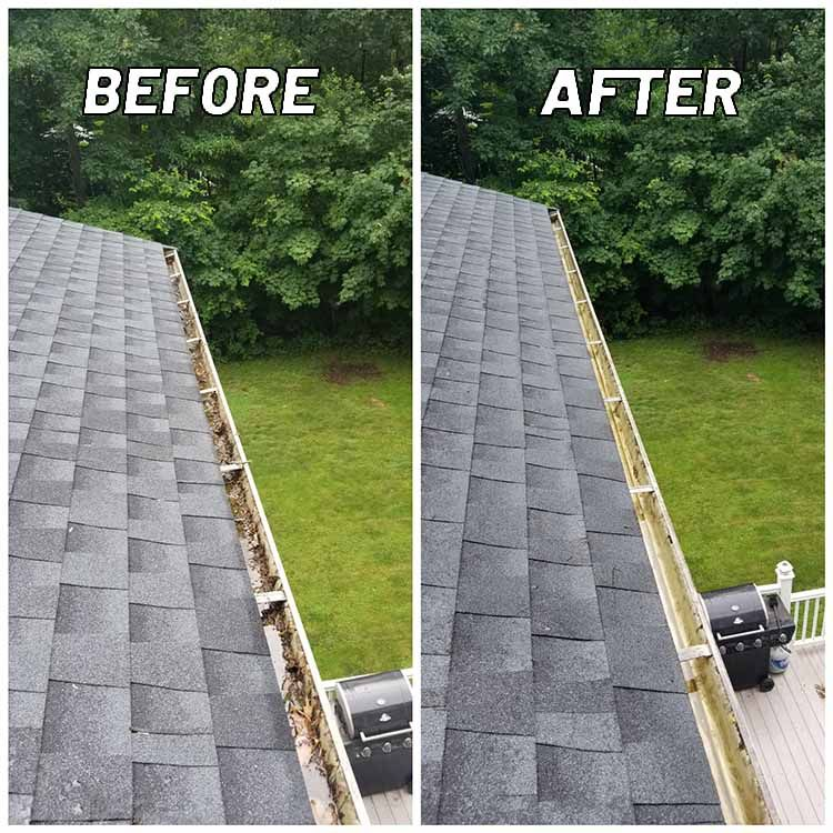 Gutter Cleaning And Repair Cleaning Gutters Gutters How To Install Gutters
