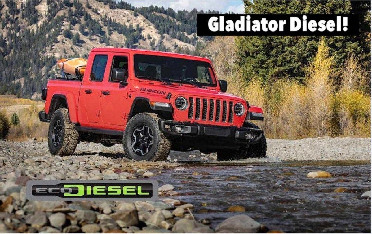 2021 Jeep Gladiator Ecodiesel Is Officially Coming In 2020 Jeep Gladiator Jeep New Jeep Wrangler
