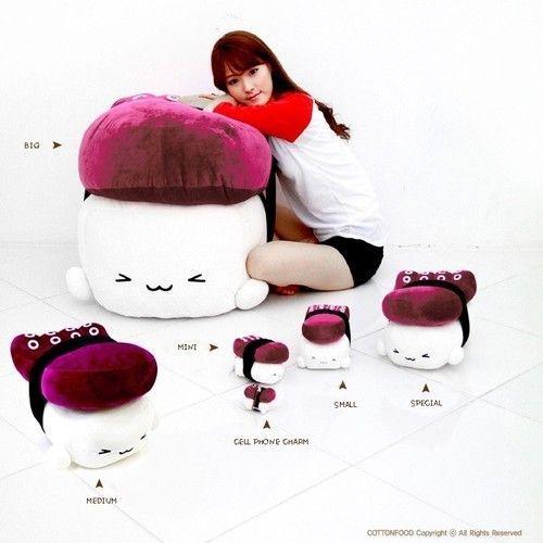 Sushi Pillow Food Pillow Anime Pillow