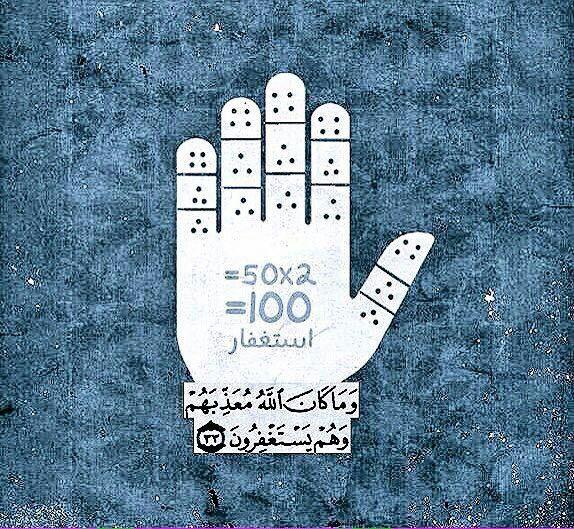 طريقة الإستغفار Peace Gesture Peace