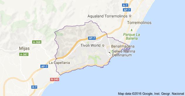 Carte Espagne Benalmadena.Benalmadena Province De Malaga Espagne Carte Espagne