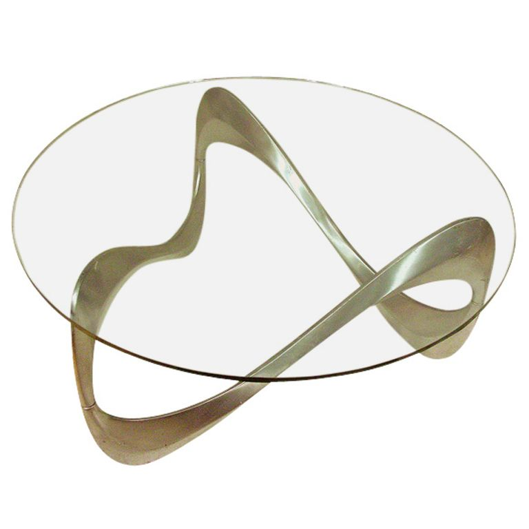 "1stdibs - Knut Hesterberg ""Schlangentisch"" Snake Cocktail Table for Ronald Schmitt explore items from 1,700  global dealers at 1stdibs.com"