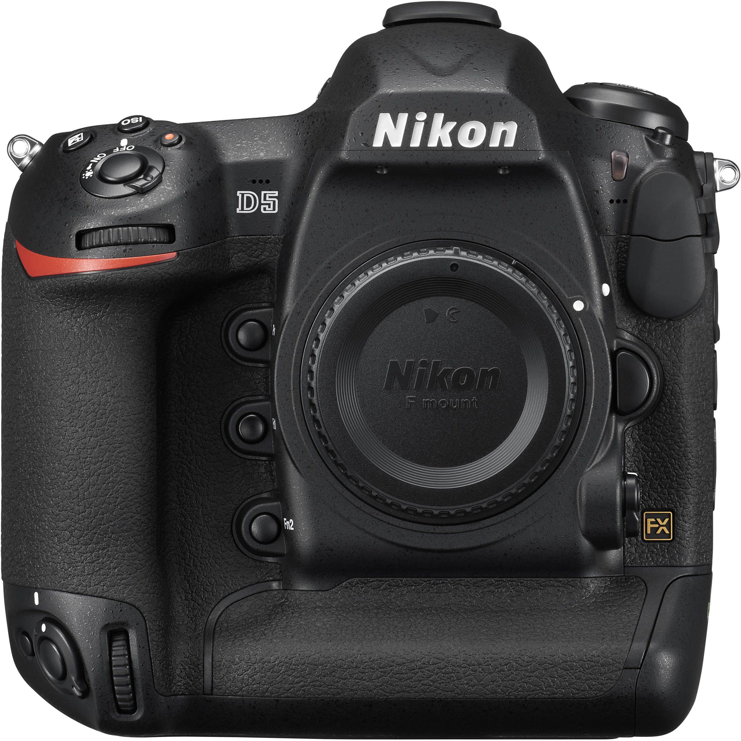 Nikon D5 Dslr Camera D5 Body Only Dual Compactflash 1558 B H Dslr Camera Nikon Digital Camera Nikon