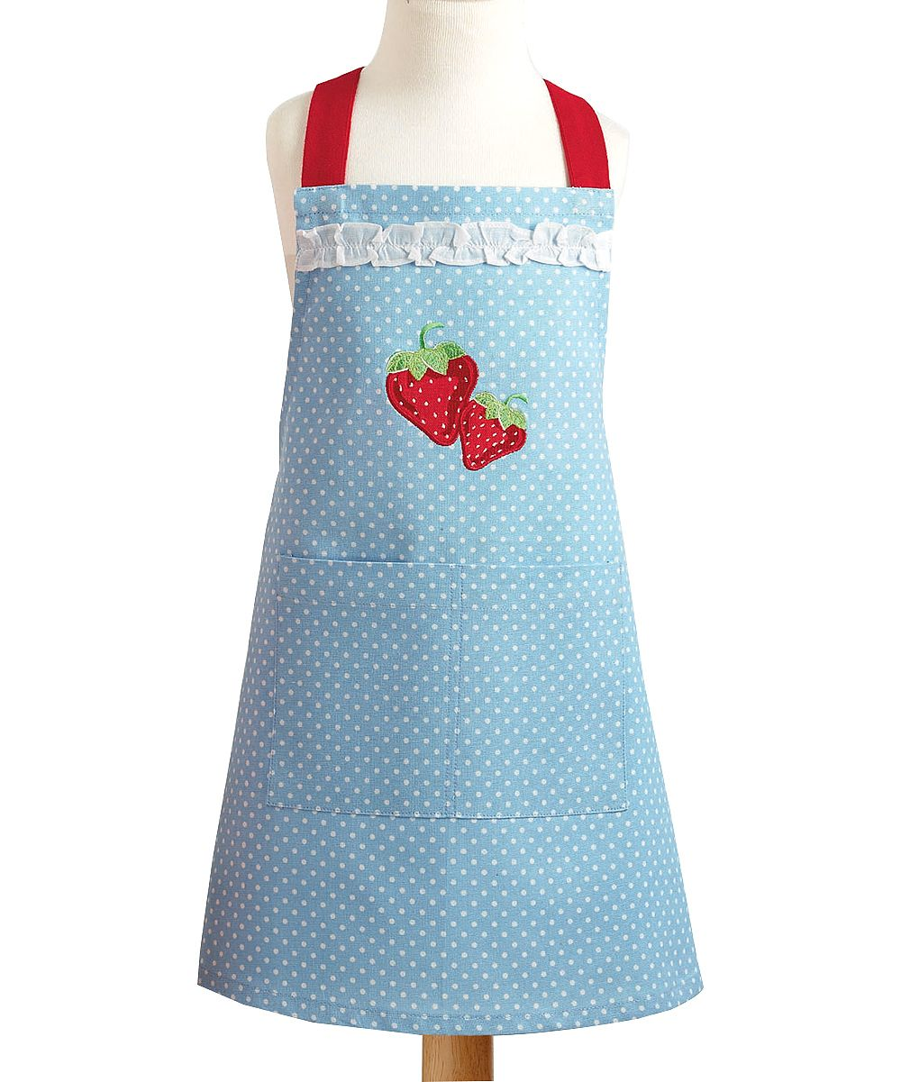 Strawberry Apron - Kids | Daily deals for moms, babies and kids ...