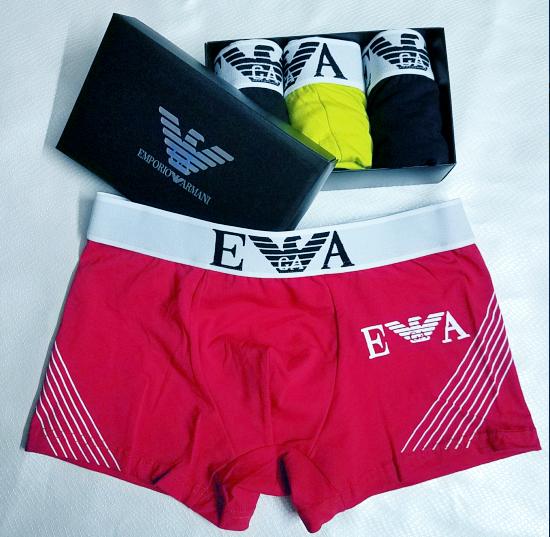 EKQ Calzoncillos Hombre Boxer Algodon Pack de 4 Ropa Interior C/ómoda para Hombres El/ásticos Multipack