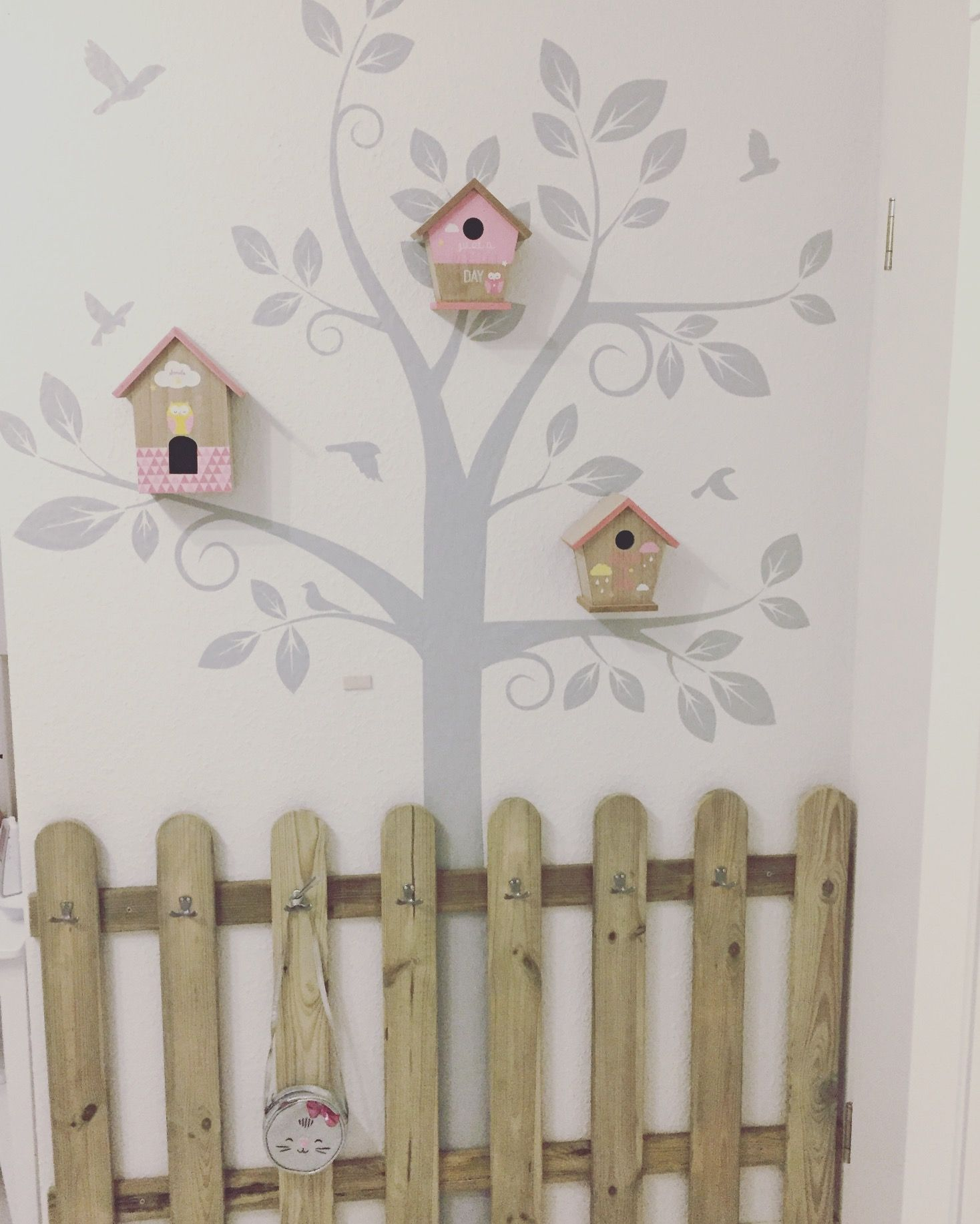kinderzimmer kinderzimmerdeko kindergarderobe diy - Kinderzimmer Deko