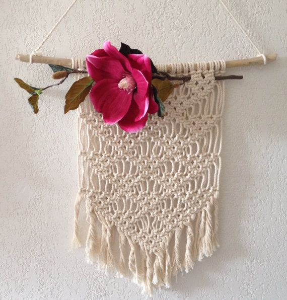Macrame wall hanging by MyFrenchTreasuries on Etsy