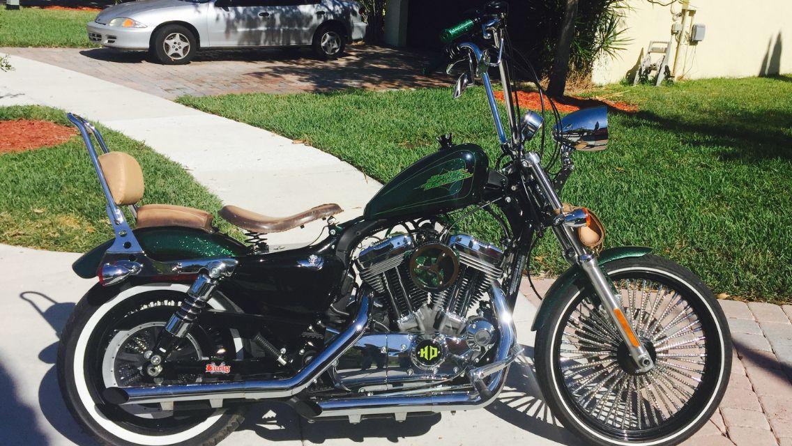 Sportster 72 bobber | Sportster 72 bobber Harley Davidson ...
