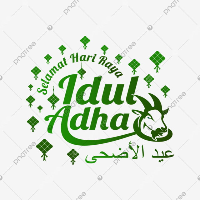 Lettering Art Selamat Hari Raya Idul Adha Background Typography Vector Png And Vector With Transparent Background For Free Download In 2020 Lettering Letter Art Selamat Hari Raya