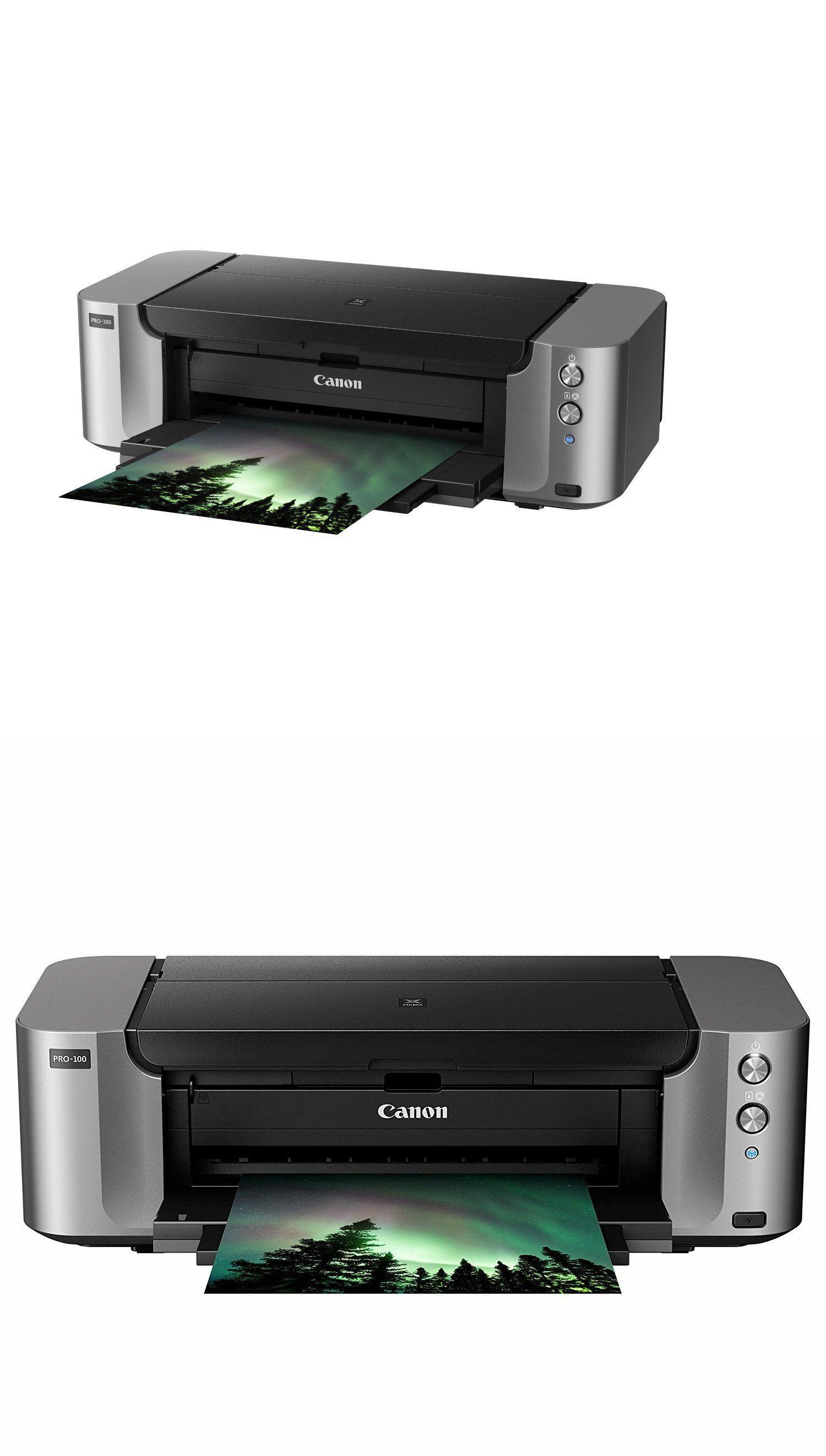 Printers 1245 Canon Pixma Pro 100 Wireless Digital Photo Inkjet
