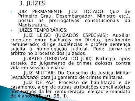 garantias de imparcialidade + magistrados + Aos juízes é vedado - Pesquisa Google