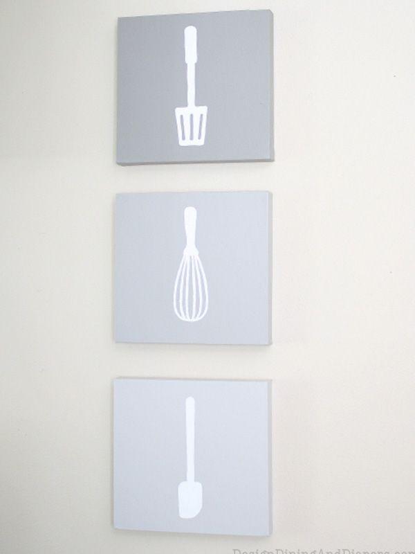 Küche Utensilien Ideen Für Wanddekoration Selbermachen Deco In