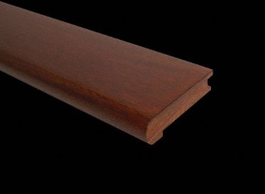 Best Prefinished Golden Acacia Stair Nose Stair Nosing Stair 400 x 300