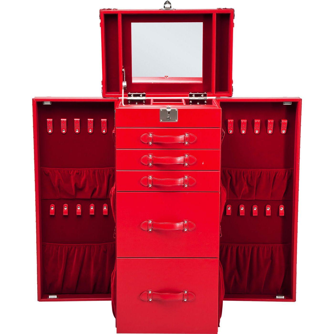 Schrankkoffer Multipurpose Red   Dressing Table.   Pinterest