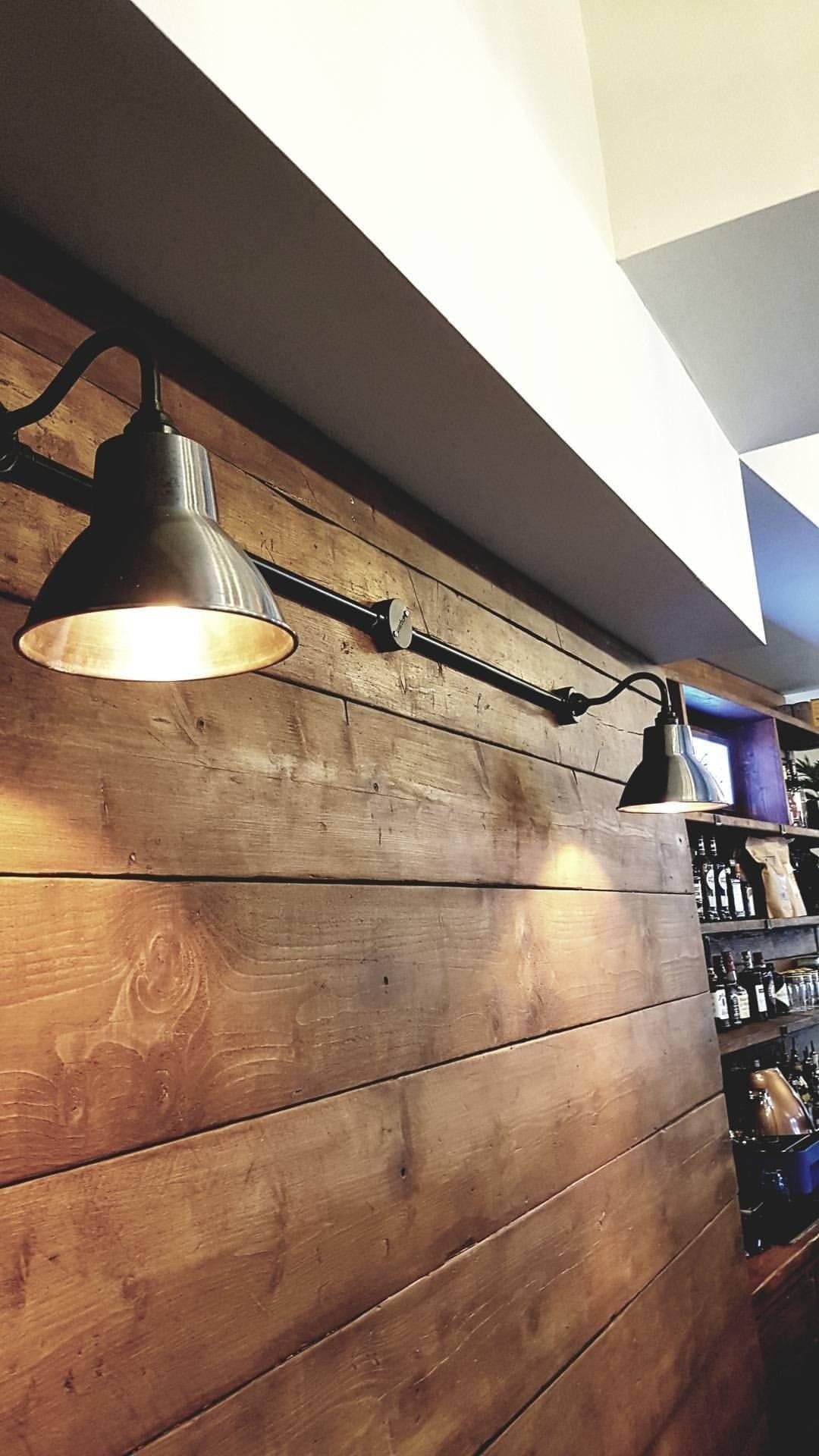 Interior wall lights scaffold board mounted | Wall mounted