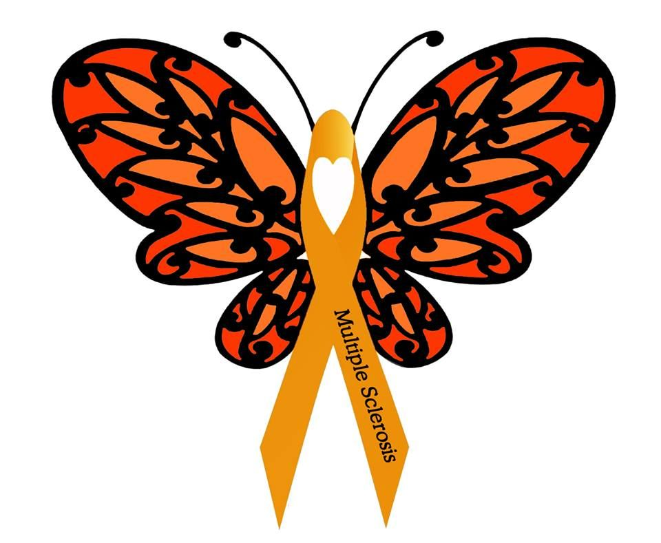 Multiple Sclerosis Awareness Butterfly Donnee Spencer Has Made