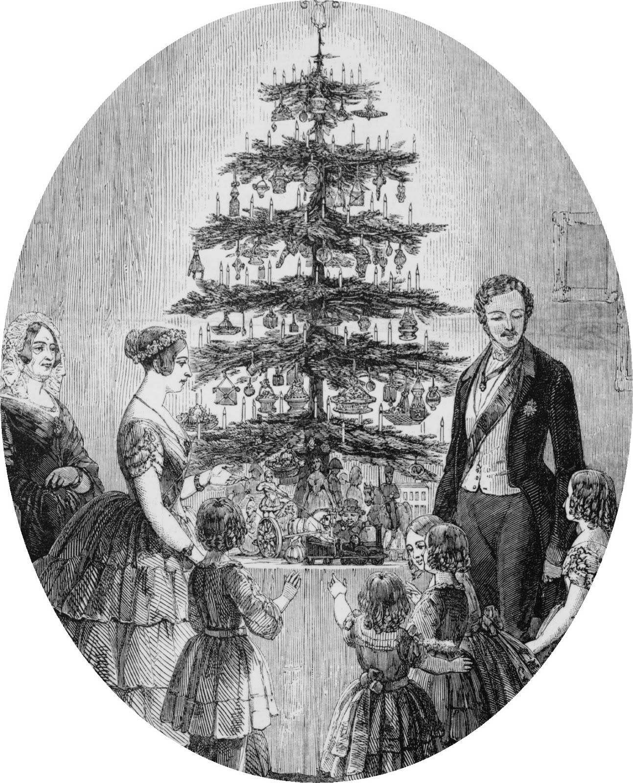 Did They Have Christmas Trees In The Regency Victorian Christmas Castle Christmas Royal Christmas