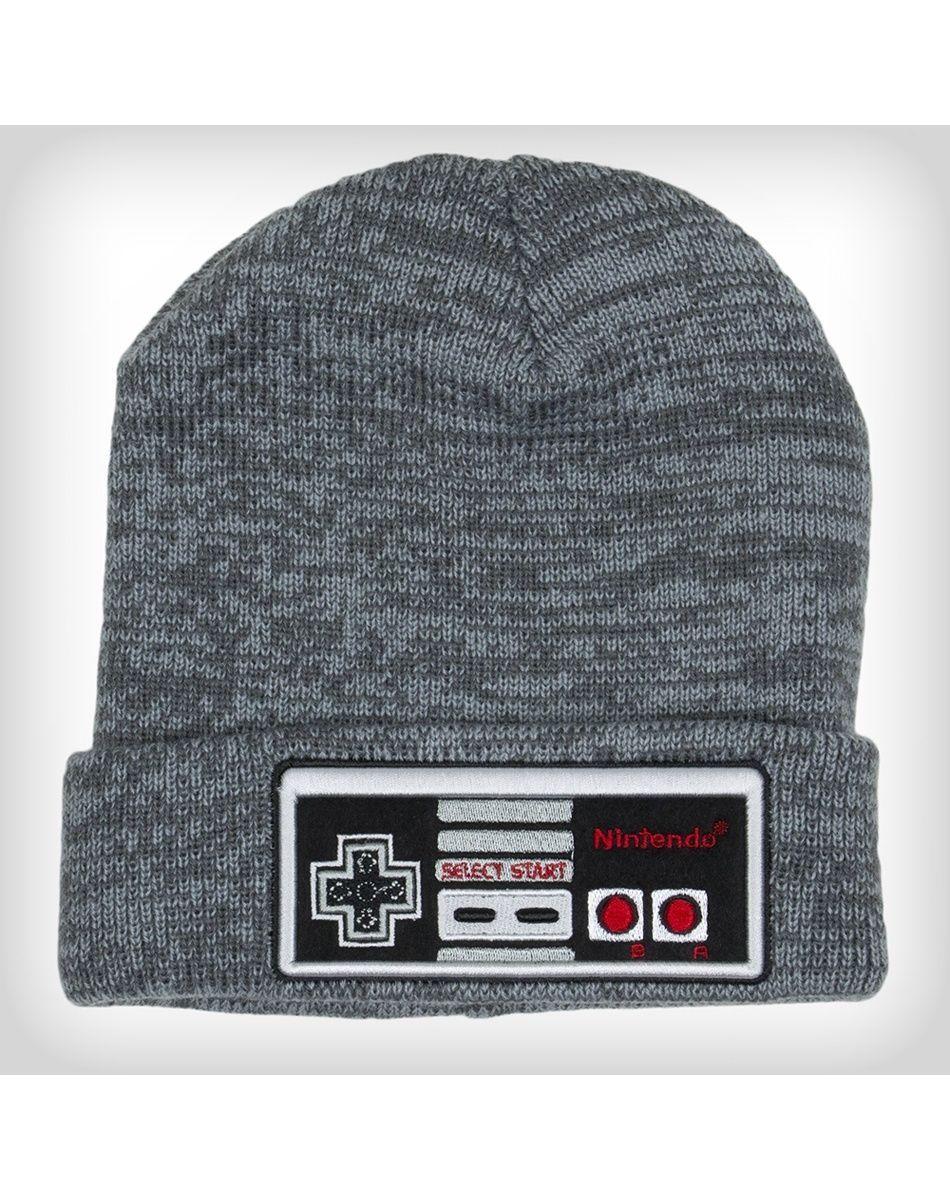 1d292a7e43e3c Official Nintendo NES CONTROLLER Beanie Winter Hat Men Women Knit Ski Cap  COOL