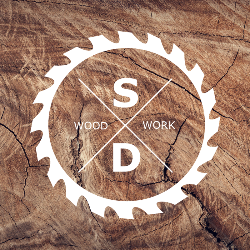 Logo design. Woodworking logo. | CeeCee Design | Pinterest ...