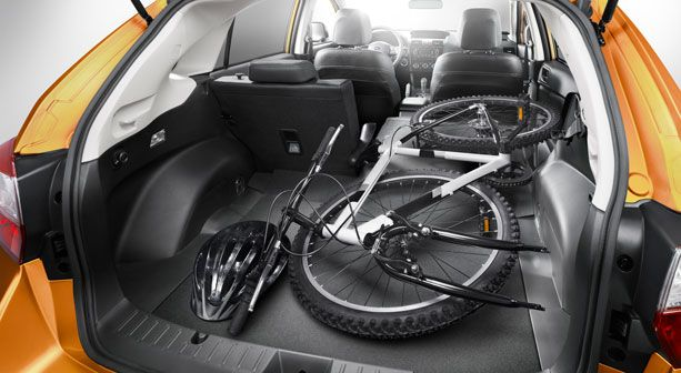 XV Crosstrek Seat Configurations - a 60/40-split fold-down