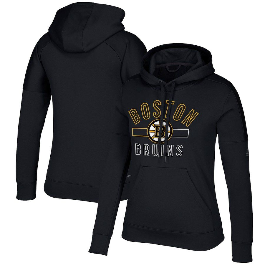 Women s Boston Bruins adidas Black Open Box Stack Hoodie in 2018 ... b9c051135