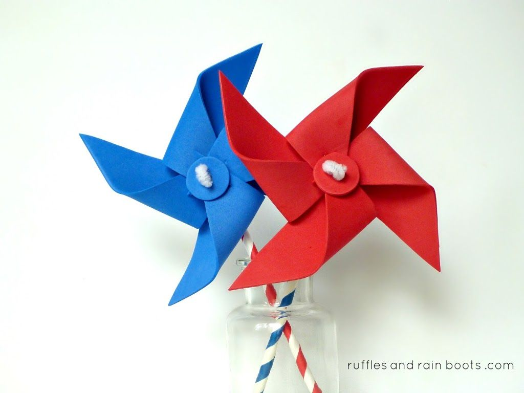 Pinwheels Without Pins That REALLY Spin! | Library Stuff | Diy
