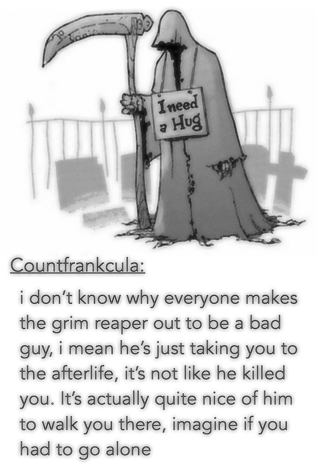 Pin by Clau Dia on Random | Grim reaper, Guys, Memes