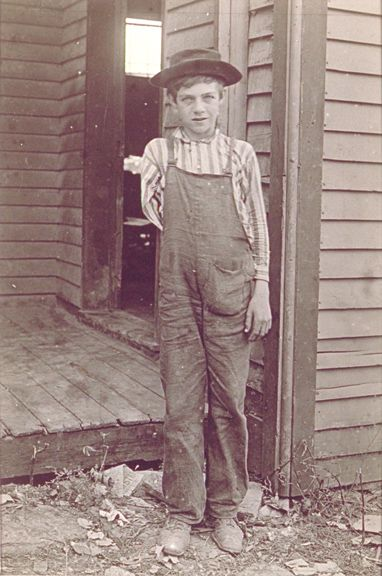 lewis w hine american 18741940 title on object boy