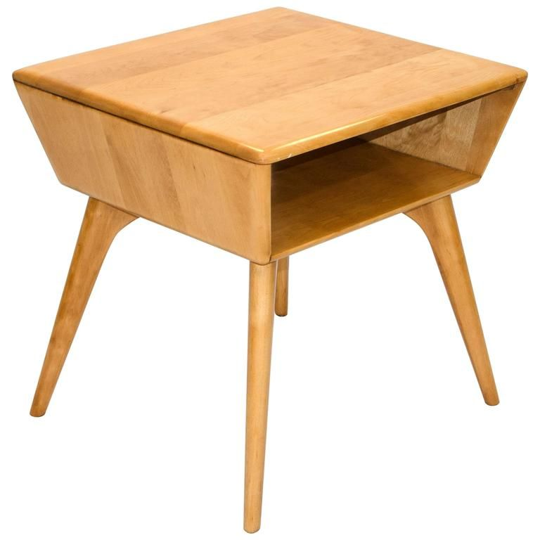 Heywood Wakefield Magazine or Lamp Table - Heywood Wakefield Magazine Or Lamp Table Wakefield, Lamp Table And