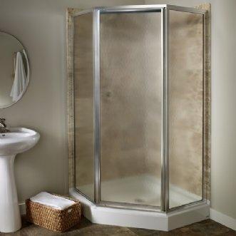 American Standard Custom Euro 36 X 72 Neo Angle Shower Enclosure Shower Doors Frameless Sliding Shower Doors Neo Angle Shower