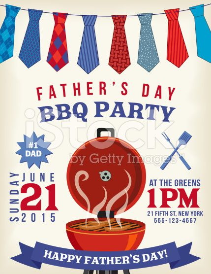 bbq celebration template for father s day event there is a hanging