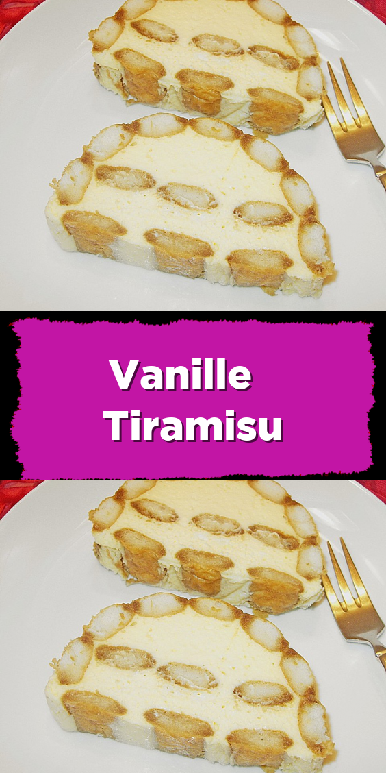 Vanille Tiramisu