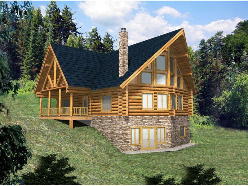 Lake house house plans walkout basement