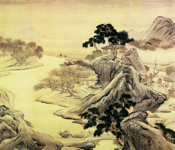 chinese landscape painting | ... Origin of Chinese ...