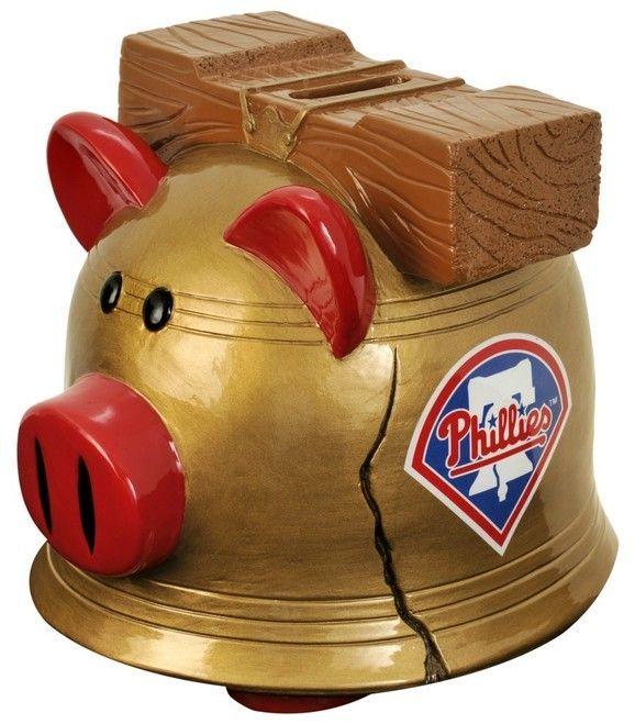 Philadelphia Phillies Piggy Bank - Thematic Small Z157-8686707113