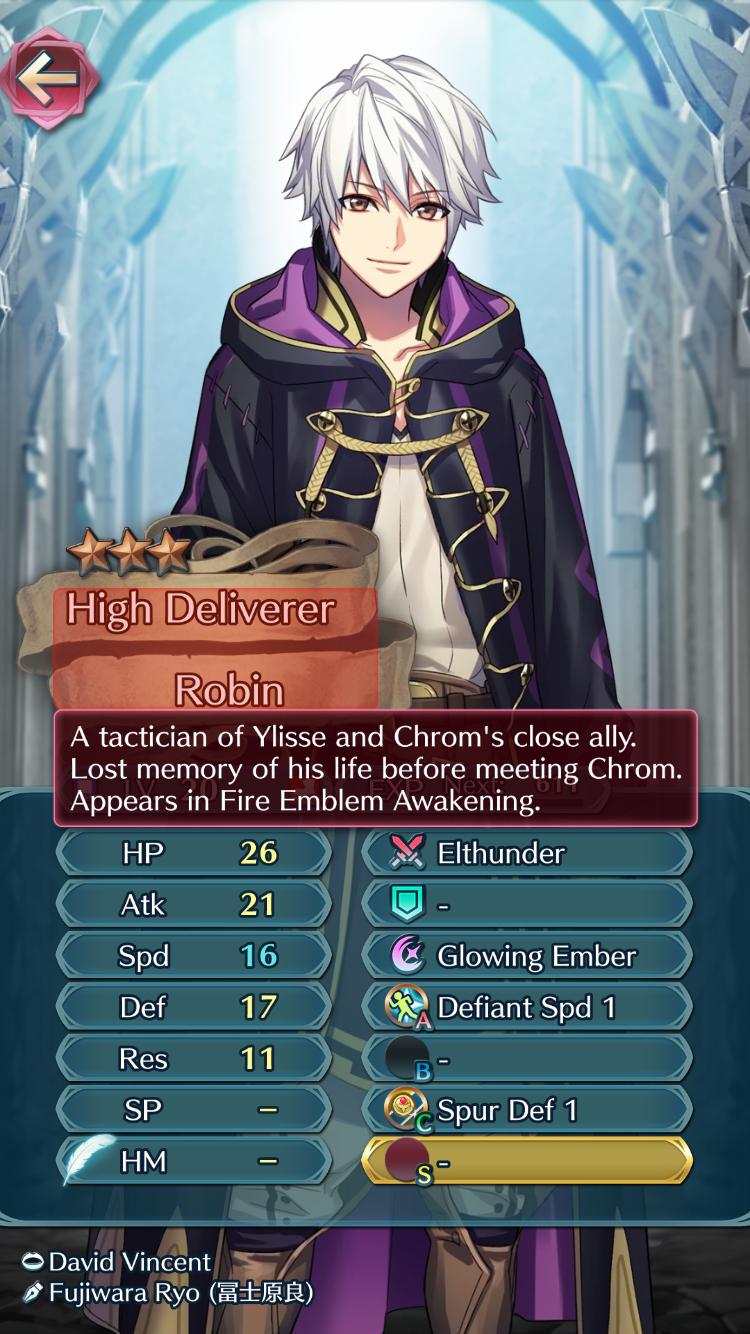 Male Robin Of Ylisse Fe Awakening In Fe Heroes Fire Emblem Heroes Fire Emblem List Of Skills