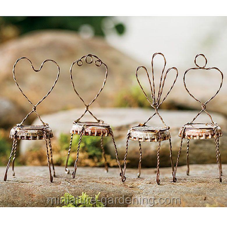 Dollhouse Miniatures Garden Set 3 piece for maintaining the yard and garden.