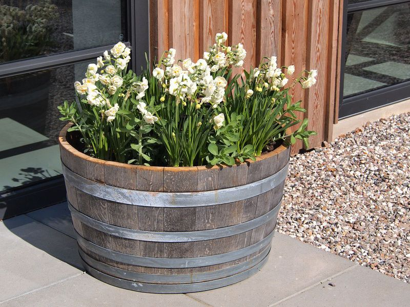 Charming How To Build A Wood Flower Pot