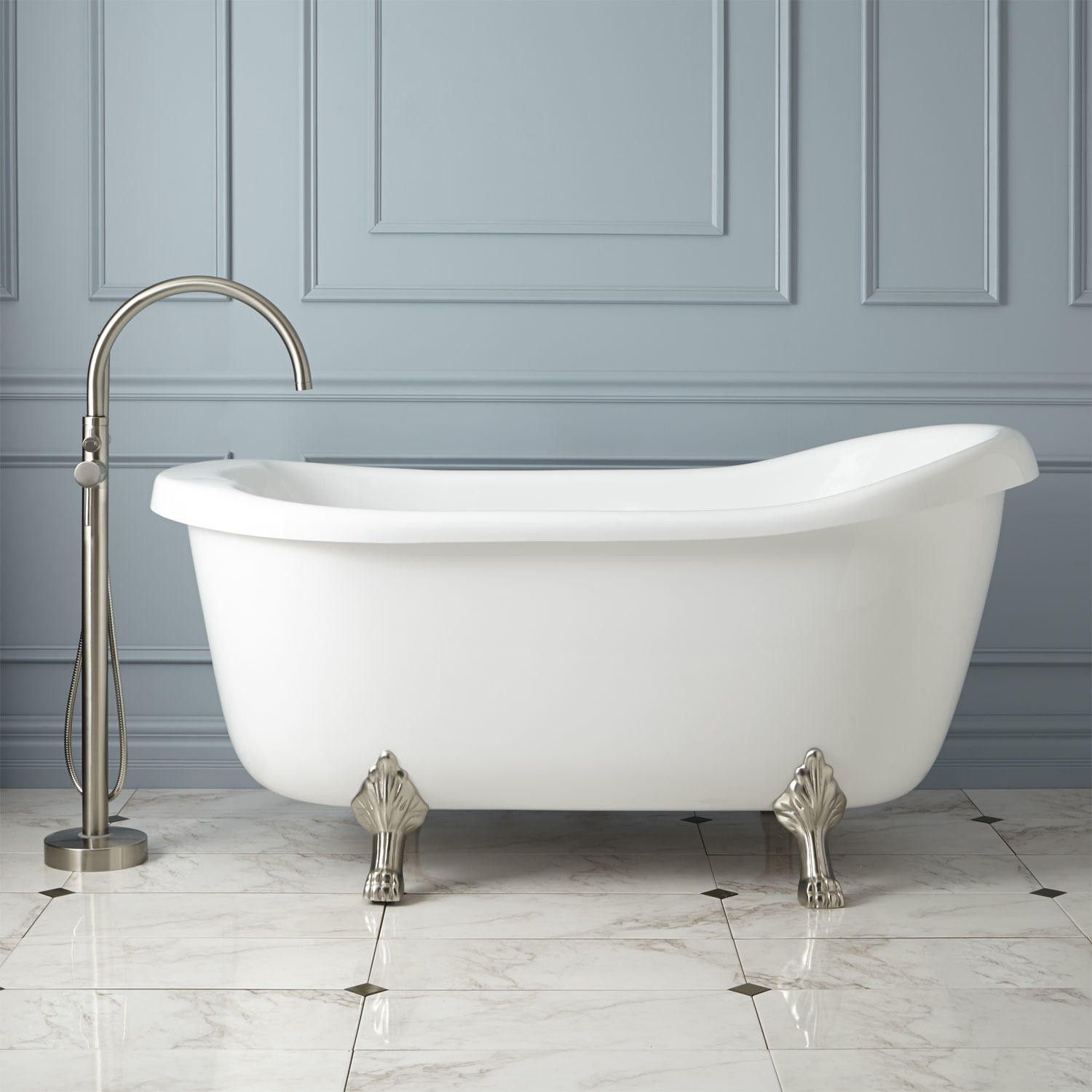 The Beauty Of A Claw Foot Tub And The Function Of A Whirlpool