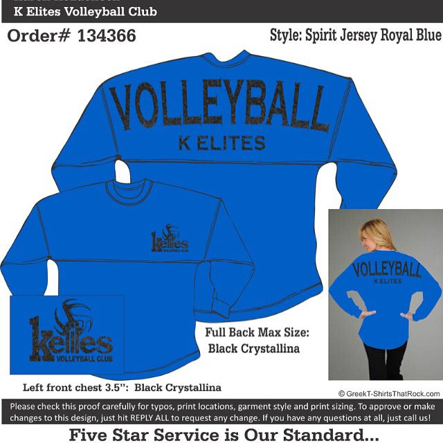Something New For K Elites Volleyball Club Volleyball Clubs Spirit Jersey Elite