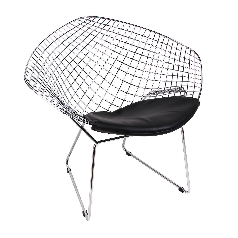 une chaise originale métallique, pour décorer avec style et design n