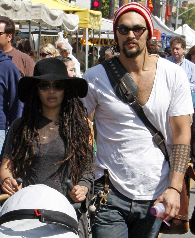 Jason Momoa And His Wife, Lisa Bonet. They Are Such An