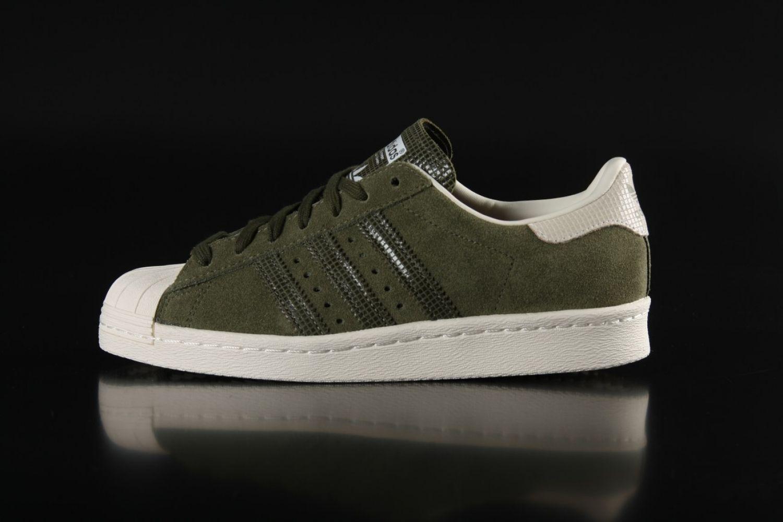 mens adidas superstar olive green