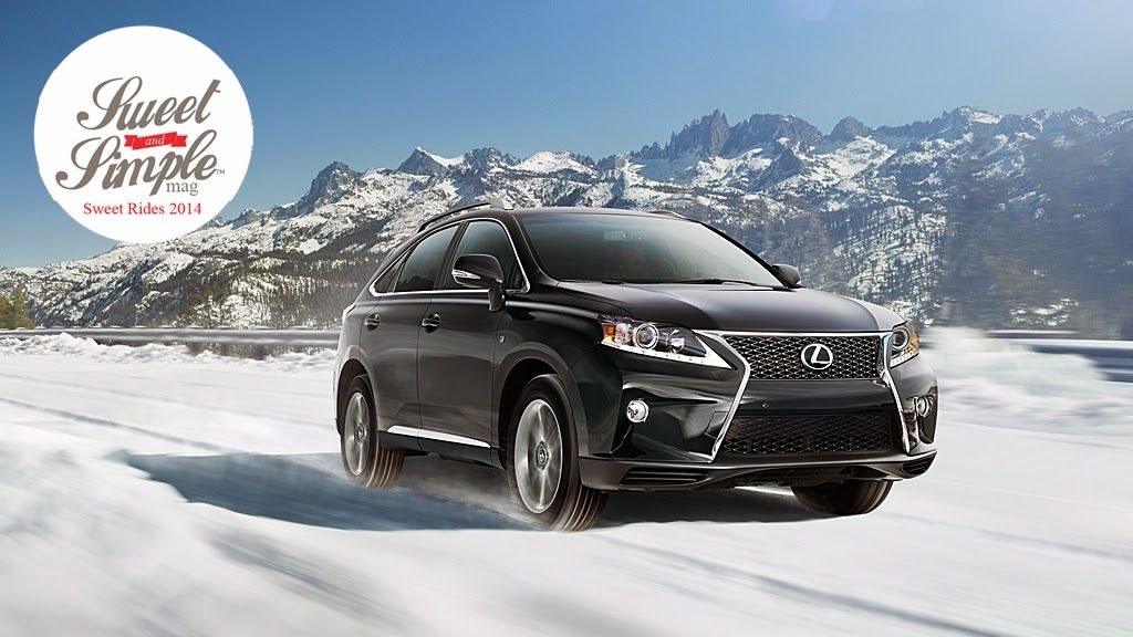 Lexus RX 350 FSport * Sweet Rides 2014 * Luxury for Mom
