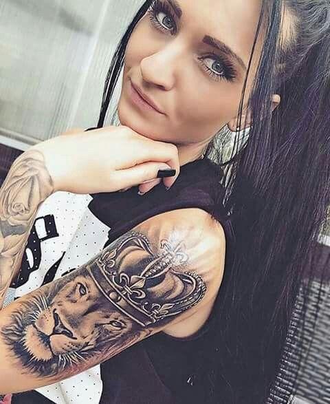 Lion King Tattoo Thea