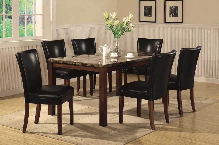 Solana Collection 120310 Casual Dining Table Set With Images