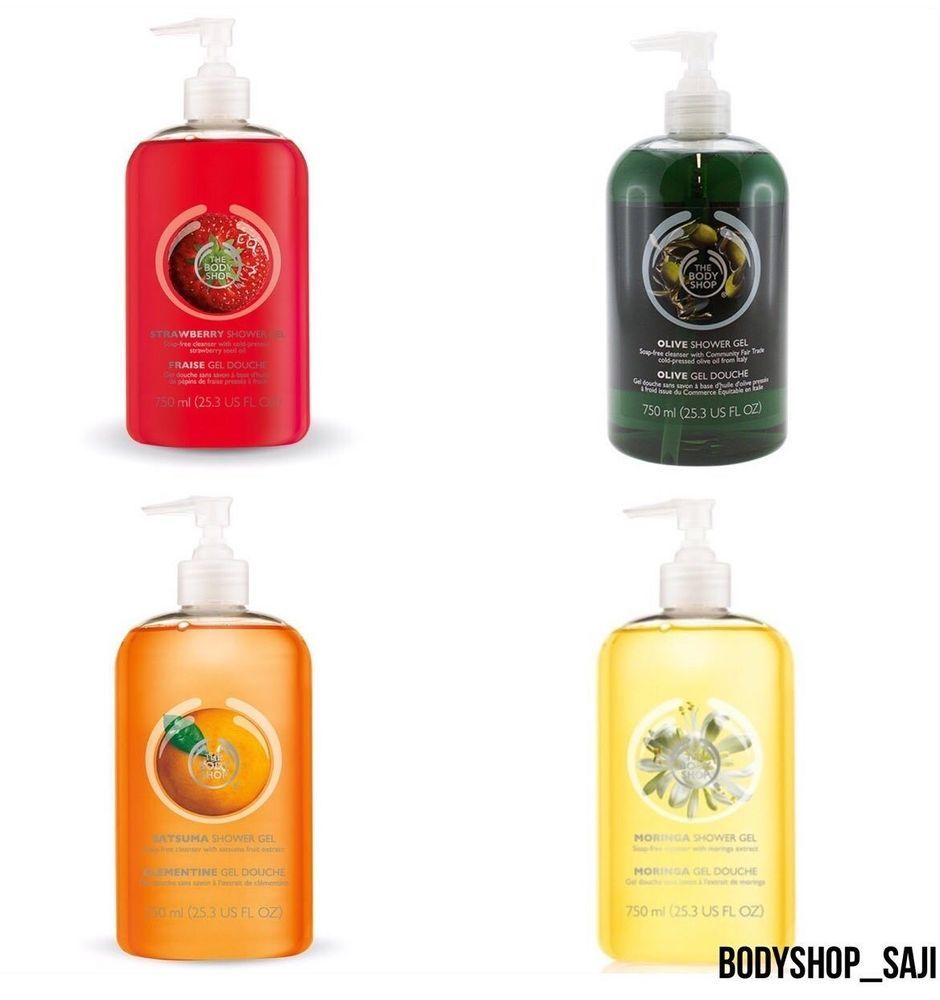 The body shop jumbo shower gel 750ml ( largest size ! many ...