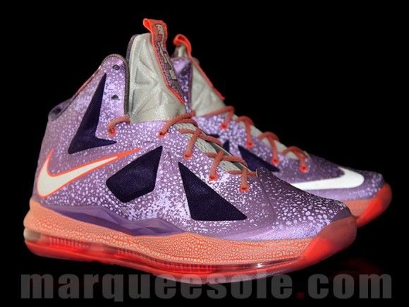 outlet store 9e7b6 10f58 Nike LeBron X Galaxy First Detailed Pictures