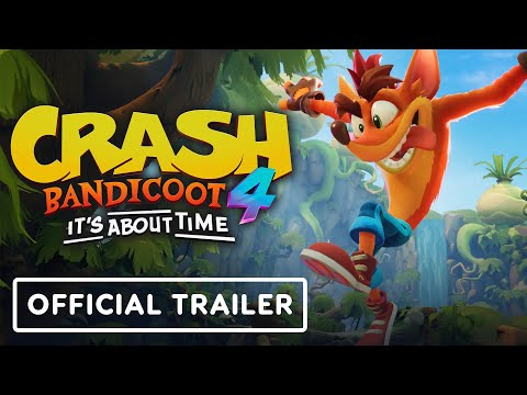 The 3d Platformer Action Game Crash Bandicoot 4 It S About Time Has Been Released For Ps4 Xbox One Crash Bandicoot Bandicoot Official Trailer